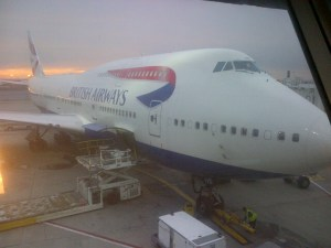 Dining in First Class Across the Atlantic on British Airways
