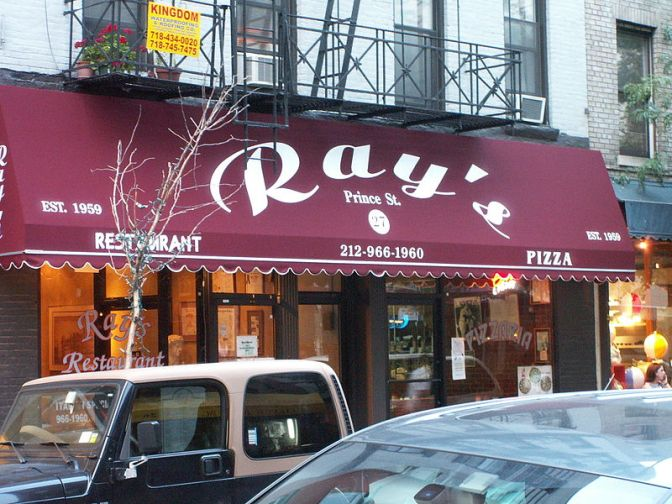 Original Rays Pizza on Prince St. To Serve Last Slice on Sunday Oct 30th