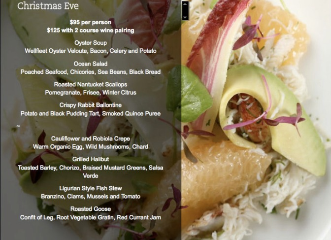 Christmas Eve in NYC Dining Guide