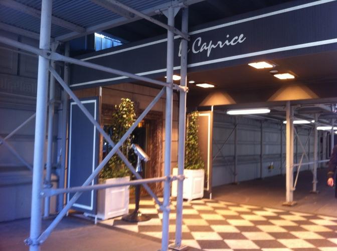 Le Caprice's Impending Closing; L'Orange Bleue Closed
