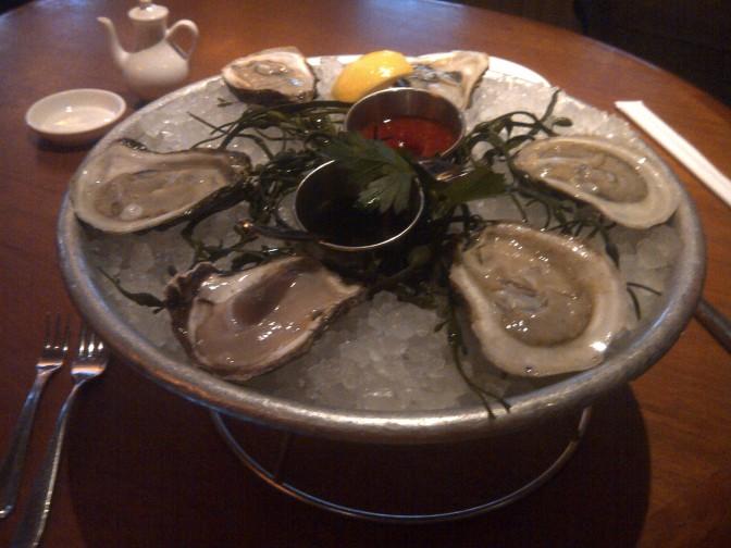 Lure Fishbar @ 1/2 Dozen Oysters