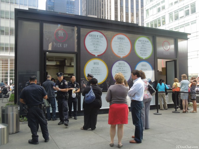 STK Out a Big Hit for Lunch in Bryant Park